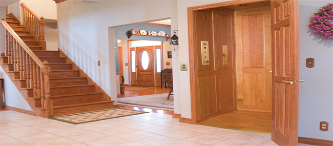 Pneumatic Home Elevator Supporting Family And Caregivers
